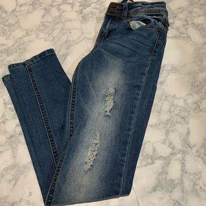 Indigo Rein ripped skinny jeans